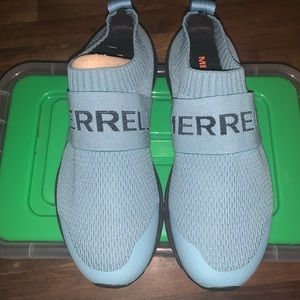 Merrell riveter laceless womens running shoes